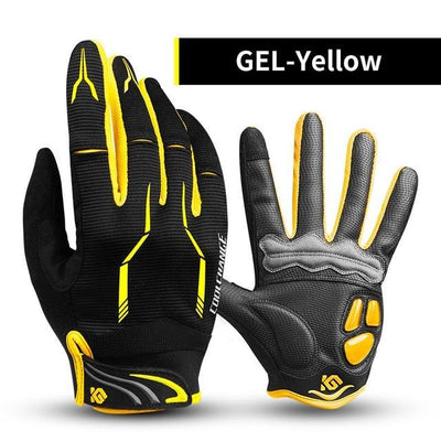 Outlet Appeal GEL Yellow / L / China Cycling Bike Gloves Touch Screen Shockproof MTB Road Bike