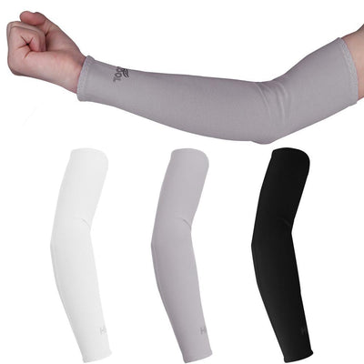 Outlet Appeal Gray 1 Pair UV Protection Cooler Arm Sleeves for Running Bike Hiking Golf Tennis Football Driving Fishing