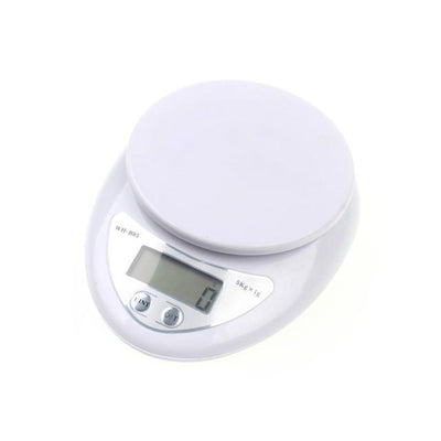 Outlet Appeal Gray 5000g/1g 5kg LED Electronic Scale Kitchen Digital Scale Postal Scales Cooking Tools Kitchen Scales
