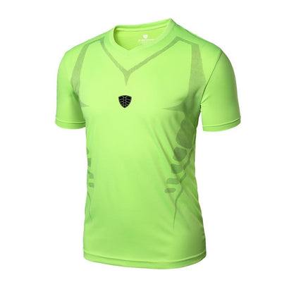 Outlet Appeal Green / M Man Workout Fitness Sports Gym Running Yoga Athletic Shirt Top
