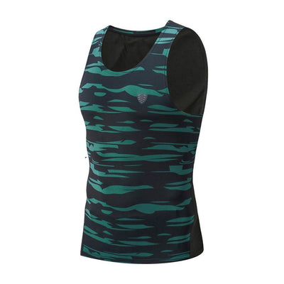 Outlet Appeal Green / M Man Workout Fitness Sports Gym Running Yoga Athletic Shirt Top Blouse Tank Vest