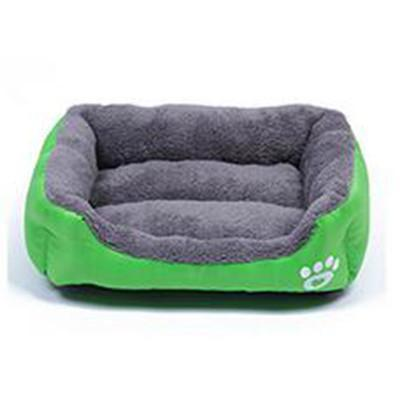 Outlet Appeal green / S Pet Bed Soft Material Pet Nest Dog Cat Puppy Small to XXXLarge