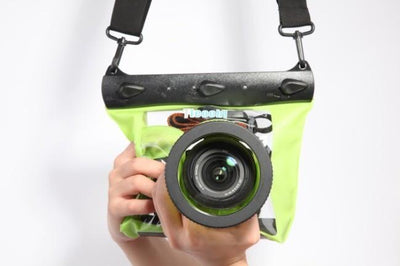 Outlet Appeal Green Universal Underwater Diving Camera Case GQ-518M