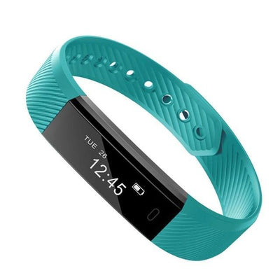 Outlet Appeal Green Waterproof Smartband Heart Rate Smart bracelet Bluetooth Fitness Step Tracker for IOS Android