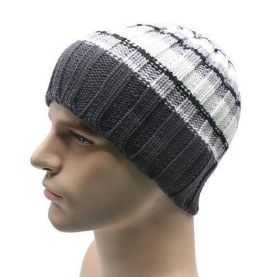 Outlet Appeal H / One Size 1PC Winter Unisex Women Men Knit Ski Hat For Outdoor Sport#FC26