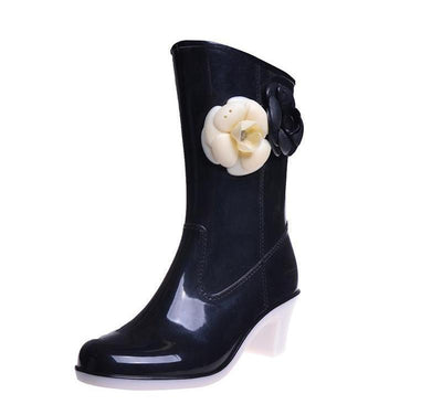 Outlet Appeal HEE GRAND Rain Boots High Quality Boots Warm Waterproof Boots Water Shoes Woman XWX3087