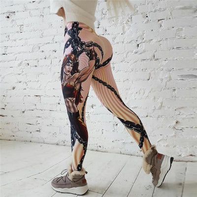 Outlet Appeal Hot New! Fashion Hero Printed Leggings Women Push Up Fitness Legging Sporting Slim Jeggings High Elastic 3D Print Leggings