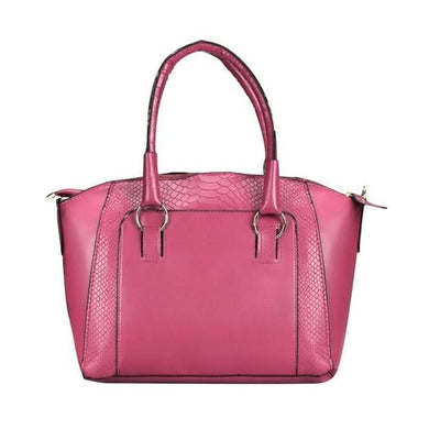 Outlet Appeal Hot Pink Women Messenger bags Leather Satchel Tote Handbag Ladies Shoulder Bag