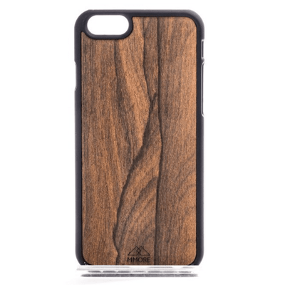 Outlet Appeal iPhone 5/5S/SE / Black MMORE Wood Ziricote Phone case - Phone Cover - Phone accessories