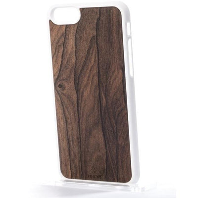Outlet Appeal iPhone 5/5S/SE / White MMORE Wood Ziricote Phone case - Phone Cover - Phone accessories