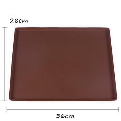 Outlet Appeal large size Non-stick Silicone Oven Mat Cake Roll Rectangle Baking Bakeware Baking& Pastry Tools