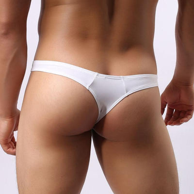 Men's Low-Waist Thong Underwear