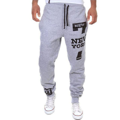 Outlet Appeal Light gray / XXXL M-3XL Men's Jogger Sportwear Baggy Casual Pants Trousers Sweatpants Dulcet