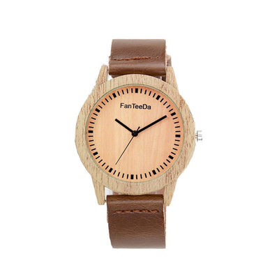 Outlet Appeal Luxury Fashion Leather Band Analog Quartz Round Wrist Watch Watches