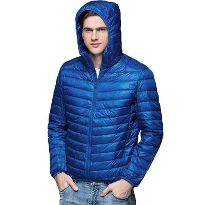 Outlet Appeal Men Duck Down Jacket Parka Winter Hooded Down Coat