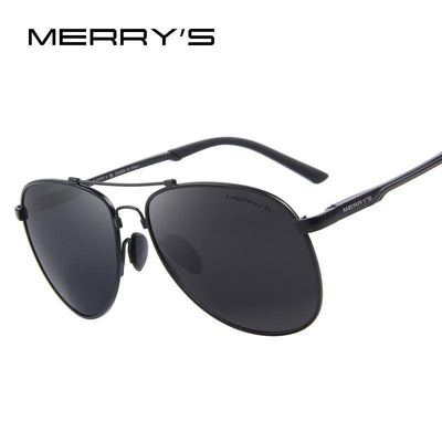 Outlet Appeal MERRY'S Men Classic Brand Aviation Sunglasses Polarized Aluminum TR90 Titanium Bridge S8716