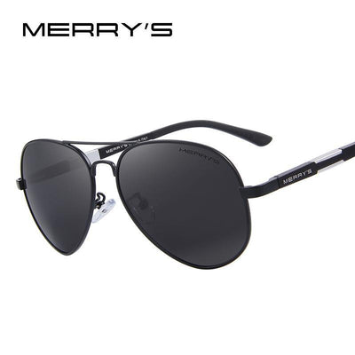 Outlet Appeal MERRY'S Men HD Polarized Sunglasses Aluminum Magnesium Men's Classic Brand S'8285