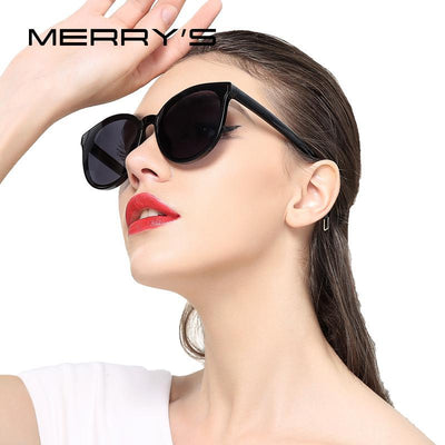 Outlet Appeal MERRY'S Women Classic Brand Designer Cat Eye Sunglasses S'8094