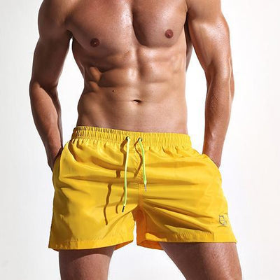 Quick Dry Men's Swim Trunks