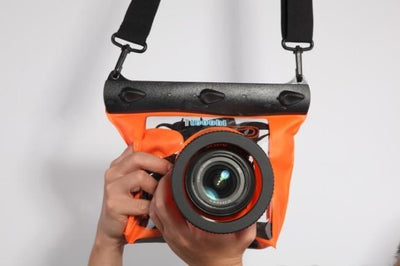 Outlet Appeal Orange Universal Underwater Diving Camera Case GQ-518M