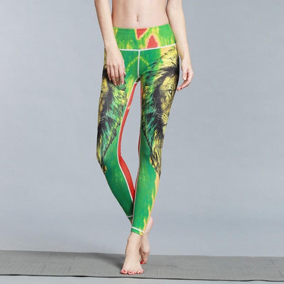 Outlet Appeal pant HK49 / S Women's Outdoor Sport Yoga Printed Leggings