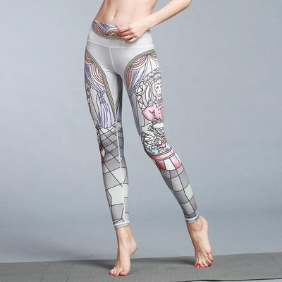 Outlet Appeal pant HK63 / S Women's Outdoor Sport Yoga Printed Leggings
