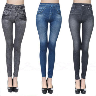 Outlet Appeal pant Imitation Denim Leggings