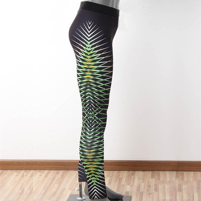 Outlet Appeal pant Women's Printed Stretch Sport Leggings