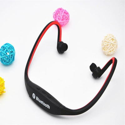 Outlet Appeal Phone-case Red Sports Bluetooth Earphone S9 Support TF/SD Card Wirless Hand-free Auriculares Bluetooth Headphones