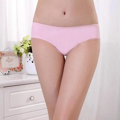 Outlet Appeal Pink JECKSION Women Panties 2016 Hot Sexy Invisible Underwear Spandex Seamless Crotch