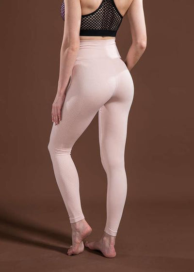 Outlet Appeal Pink / L / China Women's High Waist Stretch Fitness Yoga Pants Leggings - 10 Colors