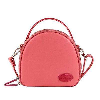 Outlet Appeal pink Leather Shoulder Bag - Handbags