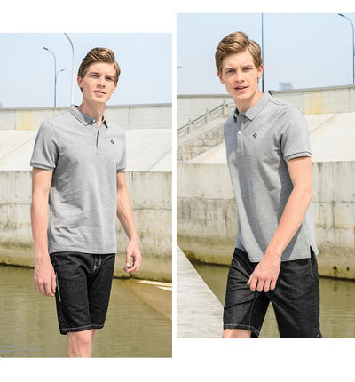 Outlet Appeal Pioneer Camp Polo shirts men solid polos male top quality 100% cotton casual summer