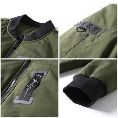 Outlet Appeal Pioneer Camp thick warm winter jacket men casual parka male collarless jacket army green black