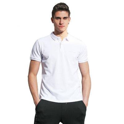 Outlet Appeal Pionner Camp Men Polo Shirt Men Business & Casual solid male polo shirt Short Sleeve breathable polo