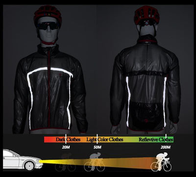 Outlet Appeal Pro Cycling Raincoat Bicycle Windcoat MTB Road Bike