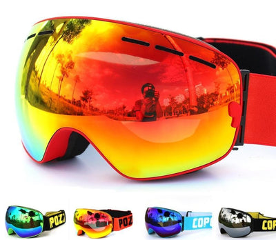 Outlet Appeal Pro Ski Mask Snowboard Goggles Double Layer UV400 Anti-fog