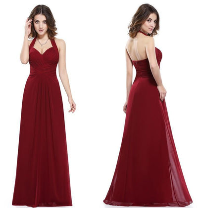 Outlet Appeal Prom Dress A Line Ever Pretty Empire Halter Long Maxi Sleeveless Long Prom Dresses
