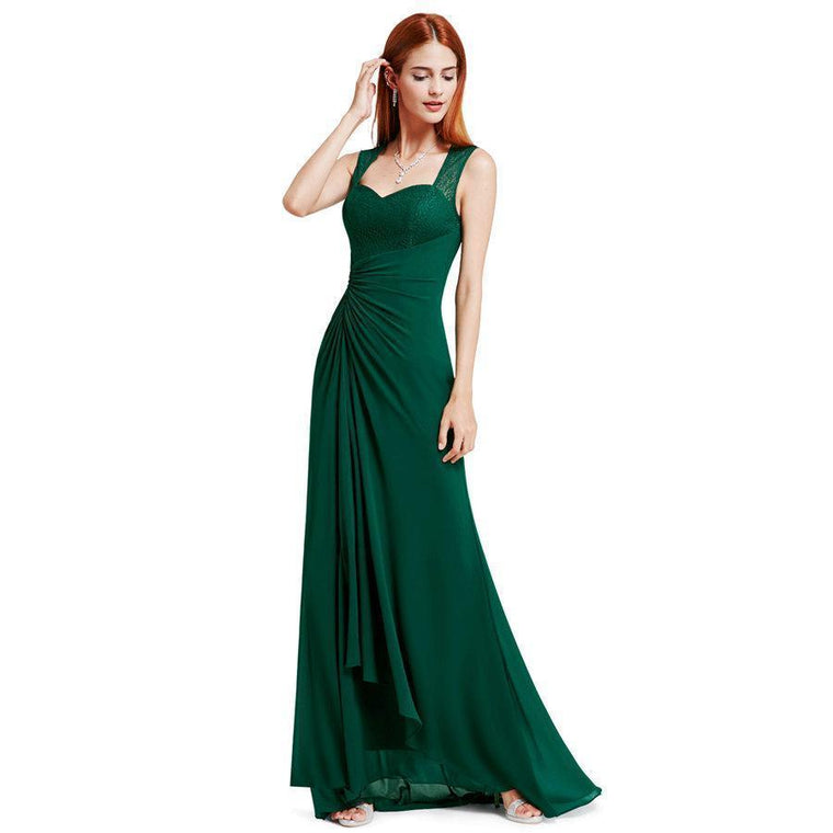 Outlet Appeal Prom Dresses Ever Pretty Women s Elegant Sleeveless Long Prom  Party Dress Chiffon 340a19b2a7fe8