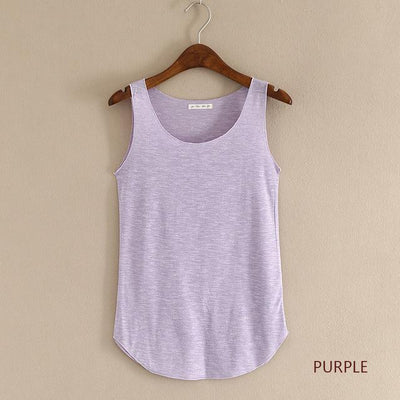Outlet Appeal purple / One Size Fitness Tank Top T Shirt Plus Size Loose Model Women T-shirt Cotton O-neck Slim Tops