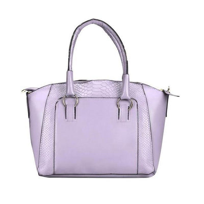 Outlet Appeal Purple Women Messenger bags Leather Satchel Tote Handbag Ladies Shoulder Bag