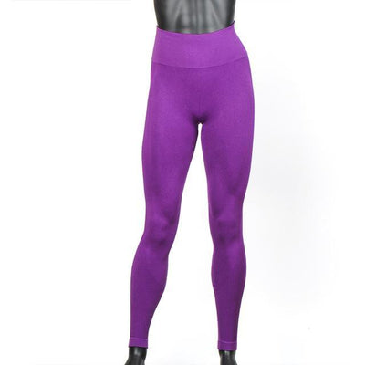 Outlet Appeal Purple / XS / China Women's High Waist Stretch Fitness Yoga Pants Leggings - 10 Colors
