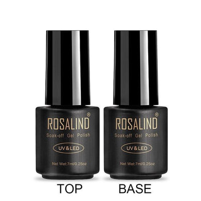 Outlet Appeal RA00 ROSALIND UV Cured Nail Gel Soak Off Nail Art Single 7ml Bottle - 28 Colors (31 - 58) with Top and Base Coat Available