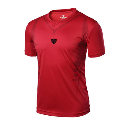 Outlet Appeal Red / M Man Workout Fitness Sports Gym Running Yoga Athletic Shirt Top
