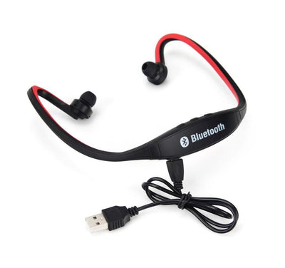 Outlet Appeal Red Sports Bluetooth Earphone S9 Support TF/SD Card Wirless Hand-free Auriculares Bluetooth Headphones