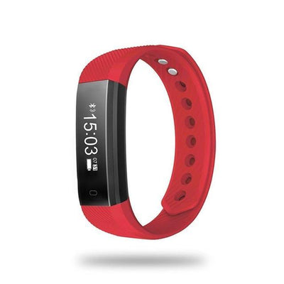 Outlet Appeal Red TLWD2 Waterproof Smart Bluetooth 4.0 Wristband 0.86 Inch OLED Touch Sleep Step Counting
