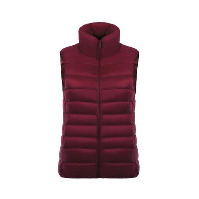 Outlet Appeal Red Wine / L / China Ultra Light Jacket Vest - 11 Colors