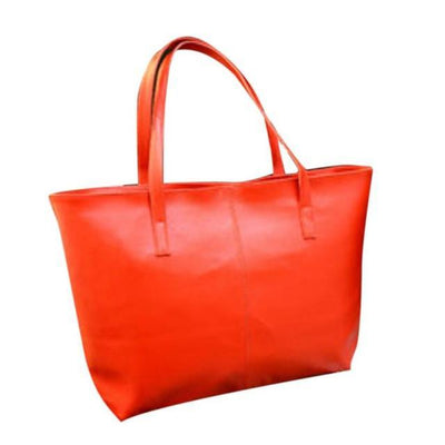 Outlet Appeal Red Women Bag Fashion Handbag Lady Shoulder Bag Women Tote Purse Leather Ladies Messenger Bags