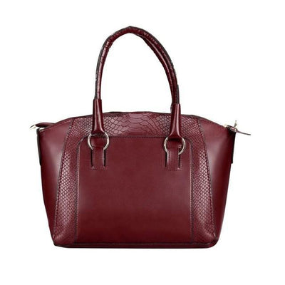 Outlet Appeal Red Women Messenger bags Leather Satchel Tote Handbag Ladies Shoulder Bag