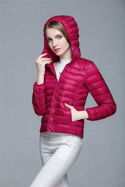 Outlet Appeal Rhodo / XXL / China Women Ultra Light Down Coat Outwear Jacket